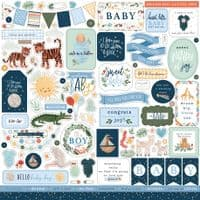 Echo Park Collection Kit - Welcome Baby Boy
